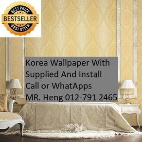 Simple Design With Wall paper with Install j1435