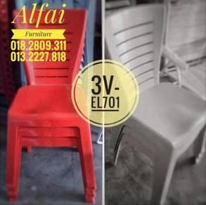 Heavy duty Plastic Chair Kerusi Plastik [ALFAI]
