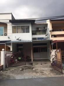 Ampang taman nirwarna 2 storey terrace house