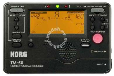 Korg tm50 / tm-50 Guitar Tuner / Metronome