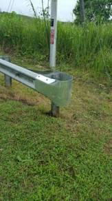 Guardrail W beam 4 m