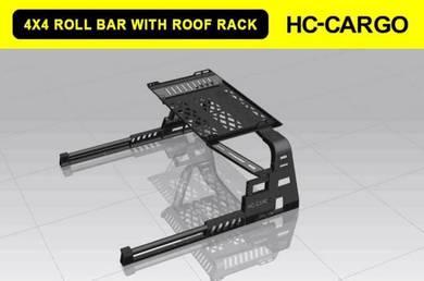 Nissan navara d40 np300 steel roll bar roof rack 4