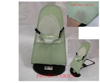 Premium green baby balance chair
