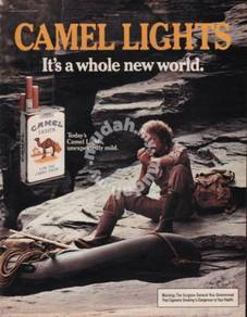 Poster CAMEL VINTAGE ADS