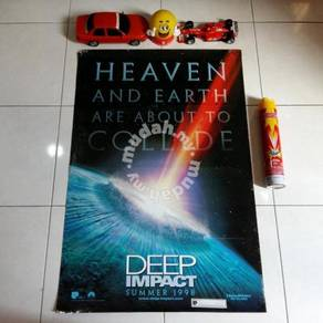 Poster DEEP IMPACT Limited Edition 1998