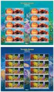 Mint Stamp Sheet Living Corals Malaysia 2013