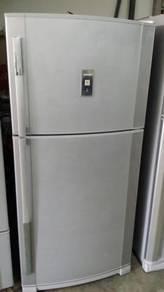 Sharp 2 Pintu Peti Ais Refrigerator Freezer Sejuk