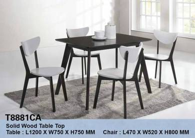 Furniture/ Solid Wood Dining Set Model T8881CA
