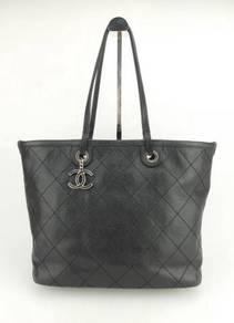 MD-10568 Chanel Classic Caviar Tote Shoulder Bag