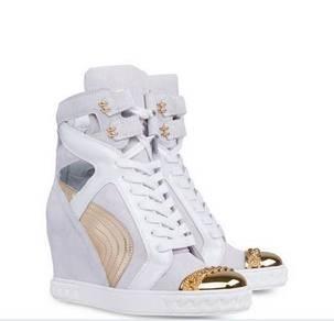 White high cut dancing shoes heels RBH0002 a