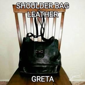 Shoulder Bag Leather Greta