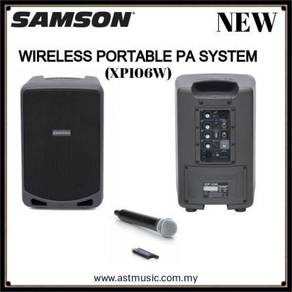 Samson Portable PA With Wireless Mic Bluetooth