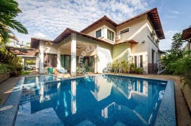 Swimming Pool | 2sty Bungalow House at Seksyen 4 Bdr Baru Bangi