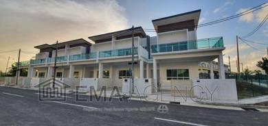 New double storey terrace project, menggatal, kota kinabalu