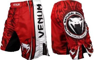 Venum carlos condit ufc fight shorts-red
