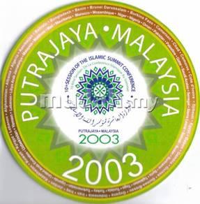 Coin card OIC 2003