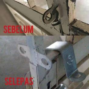Welding repair engsel,pintu,longkang,katil,gril dl