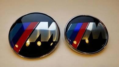 BMW M Front Rear Logo Emblem
