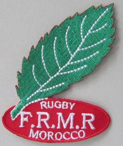 Morocco National Rugby Union Team Iron On Patch