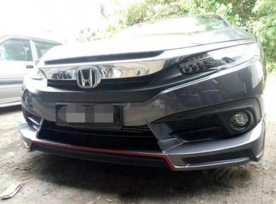 Honda civic fc rs mugen rs bodykit with paint