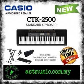 Casio CTK 2500 ctk-2500 Ctk2500 Keyboard Package