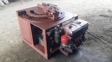 Bar bender & cutter c/w kubota engine rv70 recond