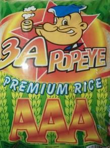 NEW Beras Baru 3A Premium Popeye 10KG