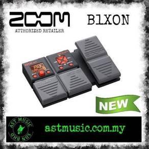 Zoom B1XON b1xon Bass Effects W Expression Pedal