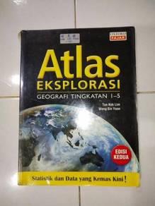 Atlas eksplorasi geography