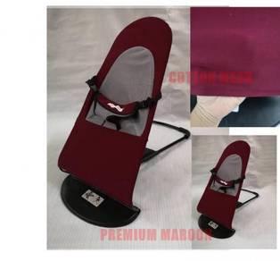 Premium maroon mesh baby balance chair
