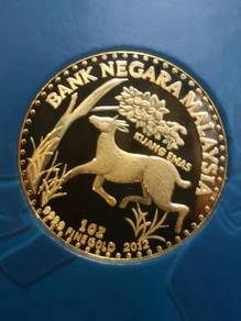 Bank Negara 99.99 Gold Coin 1 oz Kijang Emas