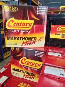 Amaron Century bateri kereta car battery 24h