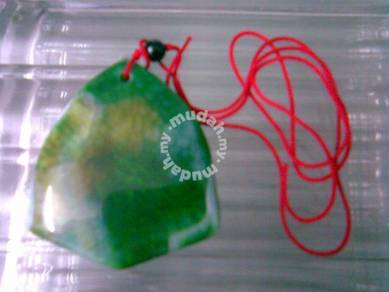 ABPJ-A004 Beautiful Agate Pendant Bead Necklace