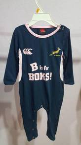 Canterbury springbok baby rompers