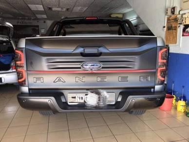 Ford ranger t6 / t7 2013 - 2017 rear door garnish