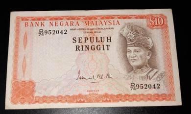 RM10 Ismail Mohd Ali Siri 3 D/74