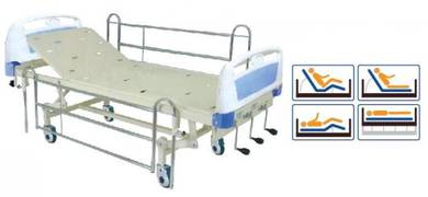 Katil Hospital Hi-Lo (3 Crank)