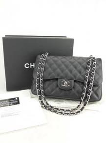 MD-10567 Chanel Caviar Jumbo Double Flap