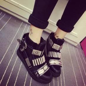 Black/ White /zebra/cheetah high cut dancing shoes