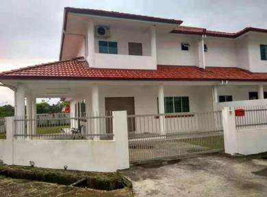 New Double Storey Semi Detached with furniture