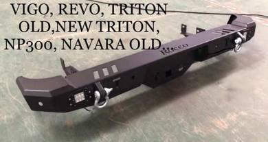 Nissan navara np300 triton rear bumper bull bar 7