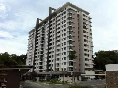 Alam damai condominium with tenant
