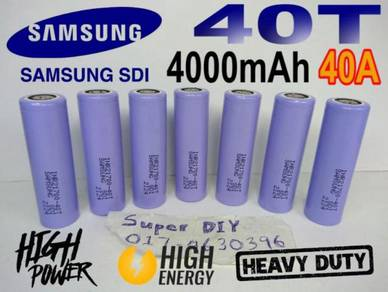 Samsung INR 21700 40T 3.7V 4000mAh Li-ion battery