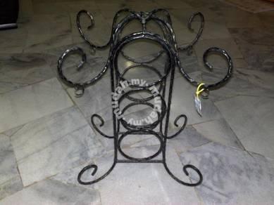 Vintage Cast iron rack rak besi 1