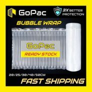 Inflatable air bubble wrap