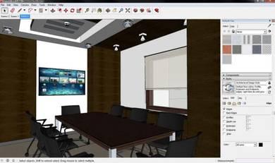 Interior design service - office design