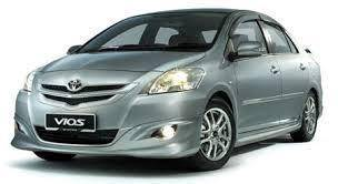 TOYOTA vios 09 abs bodykit spoiler without paint