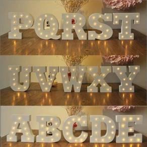 Alphabet / letter led light 03