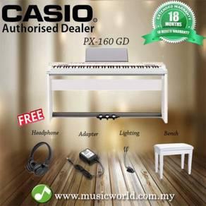 Casio Privia Digital Piano PX-160WH/BK