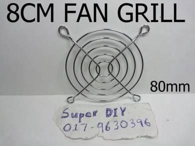 80*80mm 8cm fan protective grill metal fan guard
